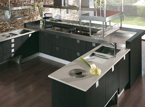 Cocinas peque as modernas arkigrafico - Planos de cocinas modernas ...