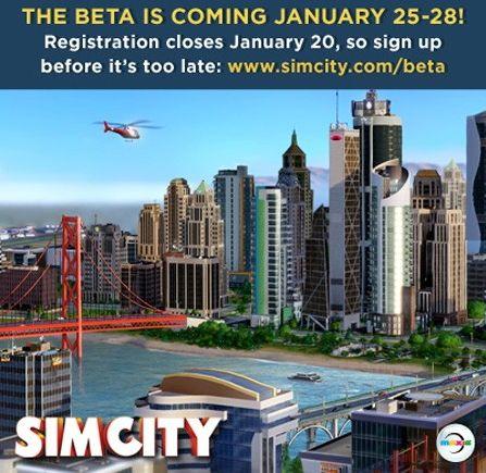 Бета-тест SimCity 5