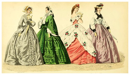 012- The history of fashion in France…1882-Augustin Challamel