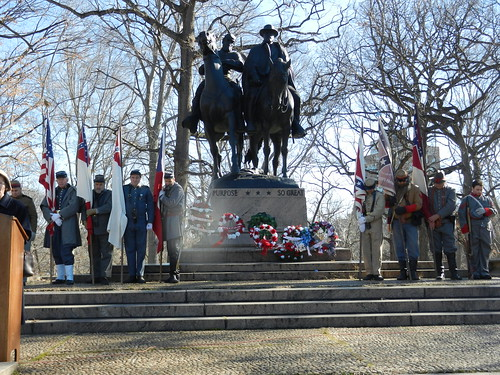 Ceremony Honoring Confederate Soldiers 1