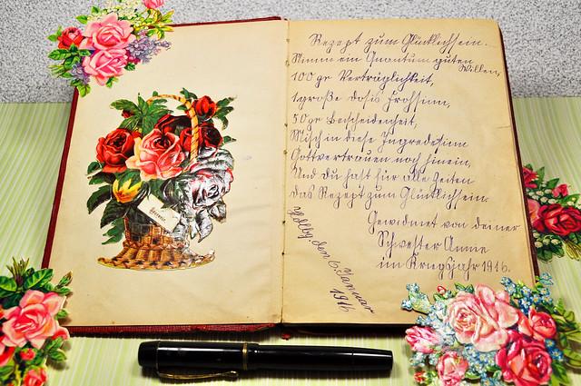 Poesiealbum 1916 Sütterlinschrift