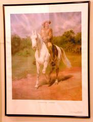 Painting of Buffalo Bill Cody