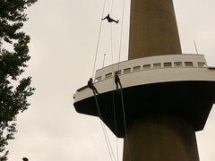 Abseiling in Rotterdam