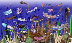 Fractal Fish  World
