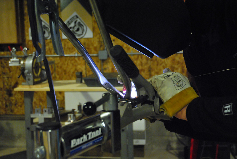 Welding Beezy's BB Assembly
