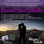 ¡Sorteo de 4 entradas para la ruta especial de San Valentín en Rutas de Toledo!