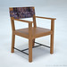 03 dining room armchair 3d render 03