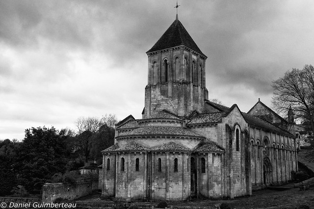 Roman church near Poitiers