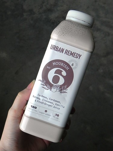 Juice cleanse review urban remedy chef amber shea ionized water cashews cardamom nutmeg cinnamon vanilla fresh ginger juice stevia each day of the purify cleanse ends with this nut milk drink malvernweather Image collections