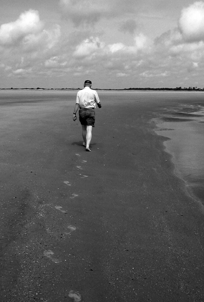 All alone . . .