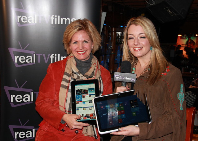 Jennifer JJ Davis, Dell Computer, Tara Hunnewell,  Social Lodge, Sundance Film Festival
