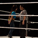Small photo of AJ Argues with the Ref