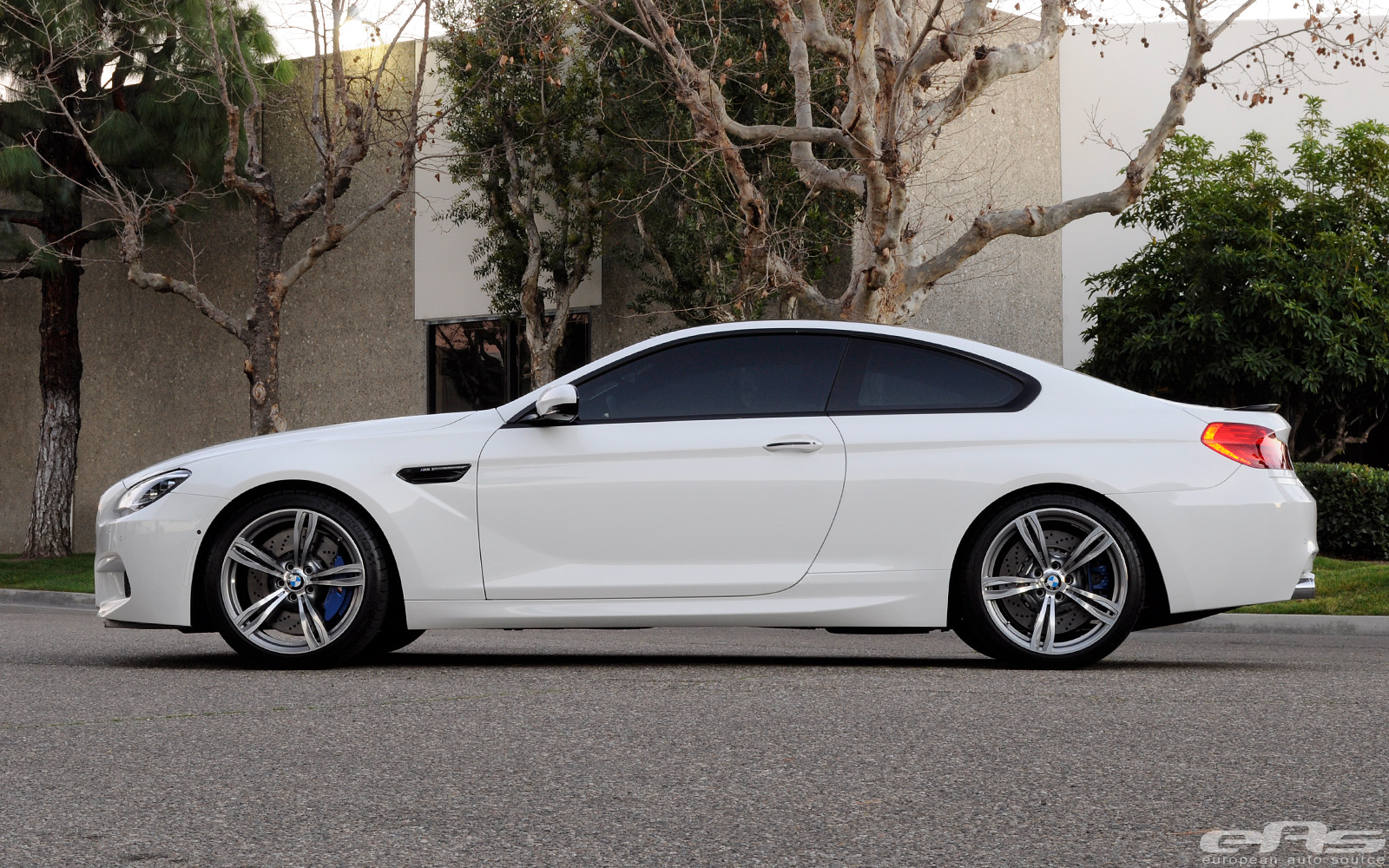 Alpine White 2013 BMW M6 by eas