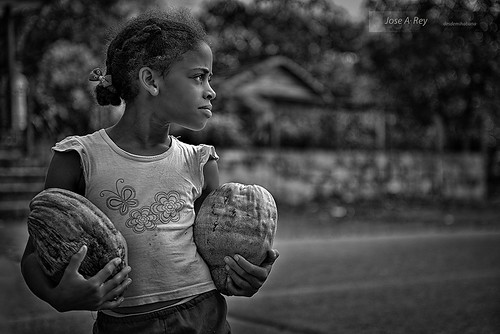 Coconouts girl by Rey Cuba