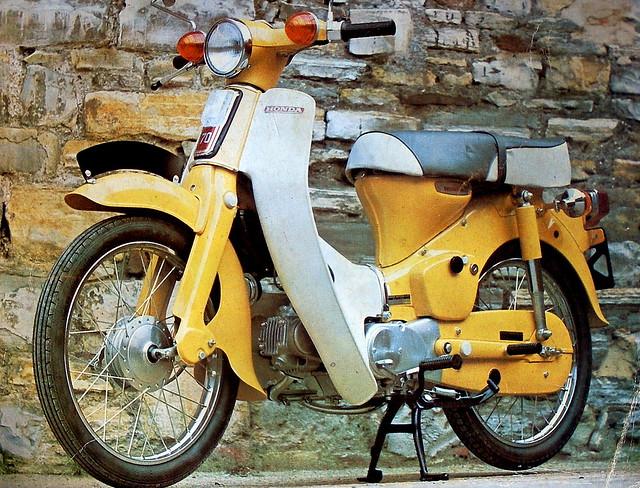 Honda  C70  - 1972