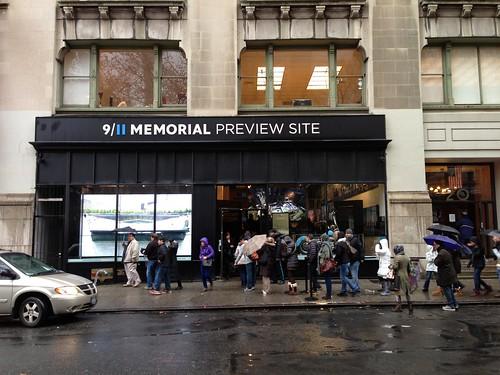 9/11 Memorial Preview site