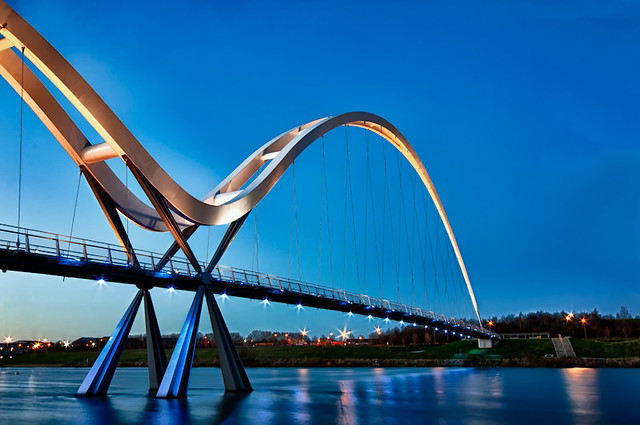 Infinity Bridge, Stockton-on-Tees (HDR Version)