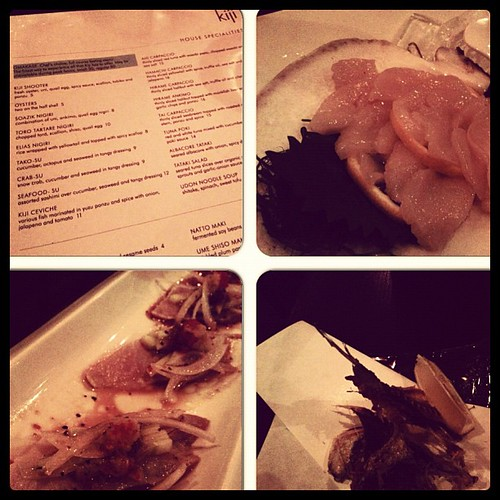 Another find at Guerrero and 22nd: Kiji #seafood