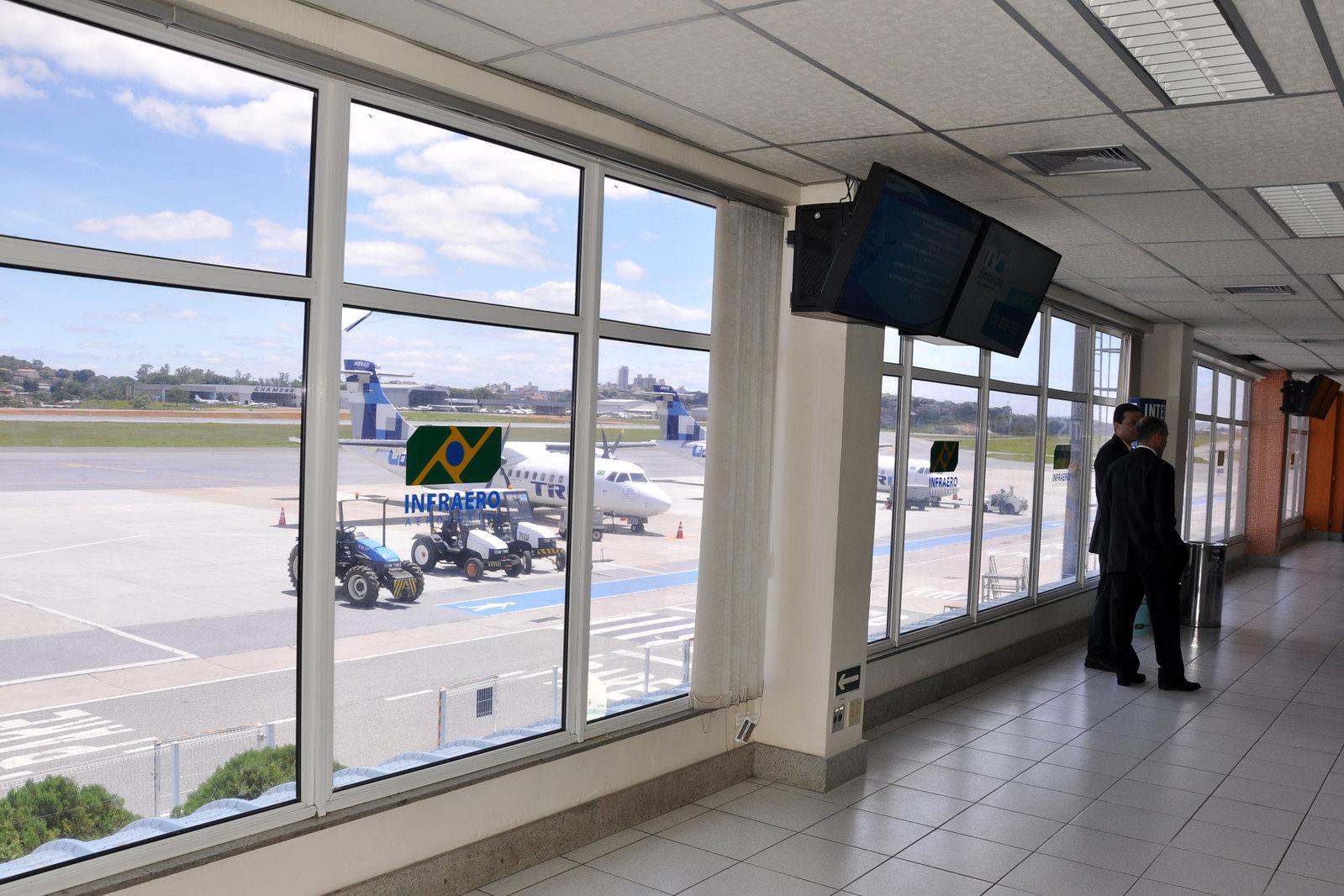 Visita às obras do Aeroporto Internacional Tancredo Neves, Confins/MG e Aeroporto Carlos Drummont de Andrade, Pampulha-MG