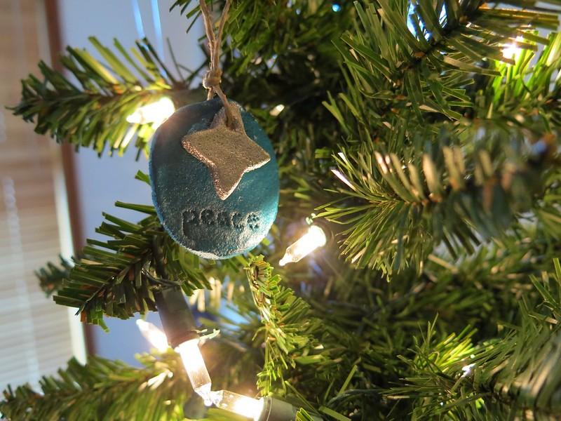 Salt Dough Ornaments 2012