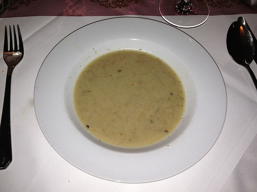 Waldpilz-Cremesuppe