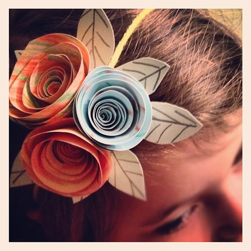 Little Miss's Paper Roses
