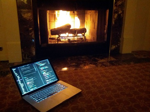 Coding by the fire