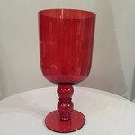 Large Red Glass Chalice, Prop Rentals - ShopStudios.com