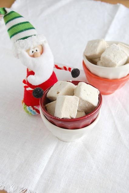 Gingerbread marshmallows / Marshmallows de gingerbread