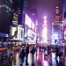 Times Square, winter wet night by Dan Nguyen @ New York City