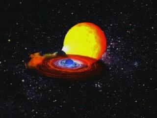 Superbursting Neutron Star Animation