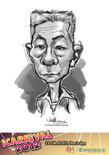 digital live caricature for iCarnival 2012  (IDA) - Day 2 - 40