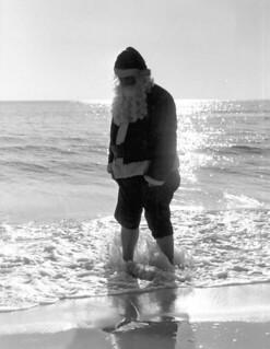 Santa Claus at Panama City Beach, Florida