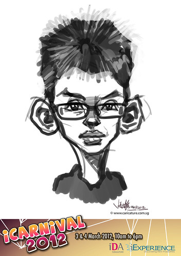 digital live caricature for iCarnival 2012  (IDA) - Day 2 - 51