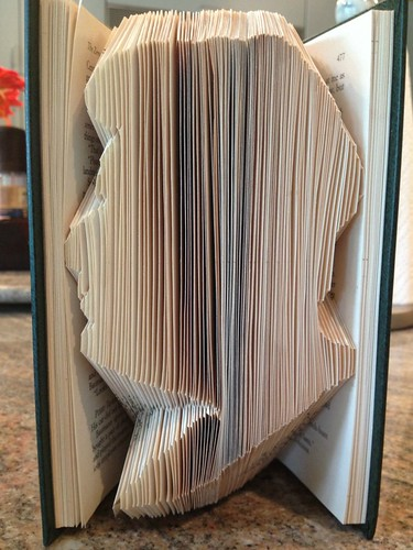 Folded Book Silhouette
