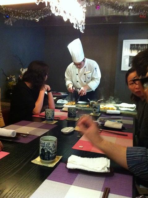 Japanese Teppanyaki At Sessyu