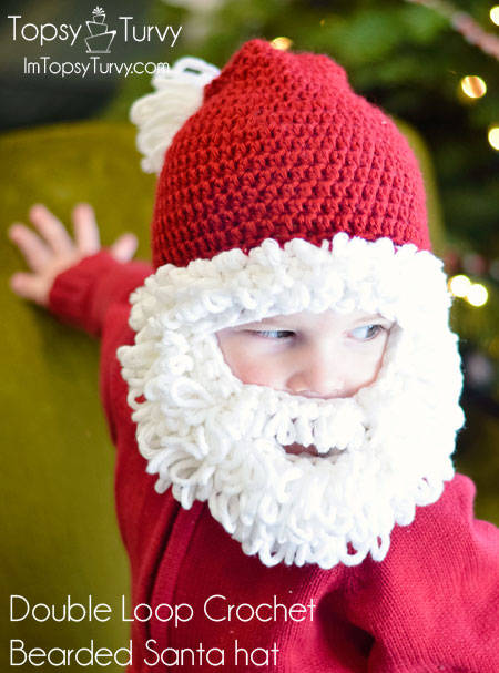 double-loop-crochet-santa-beard-hat
