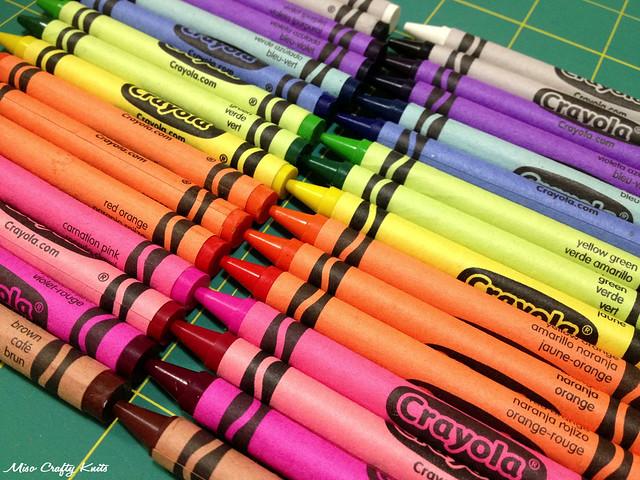 Crayons - Rainbow