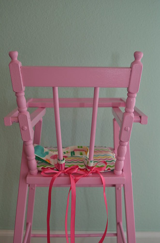 Dolly High Chair - After - Back