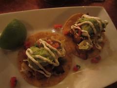 tostada, meal, lunch, taco, food, dish, cuisine,