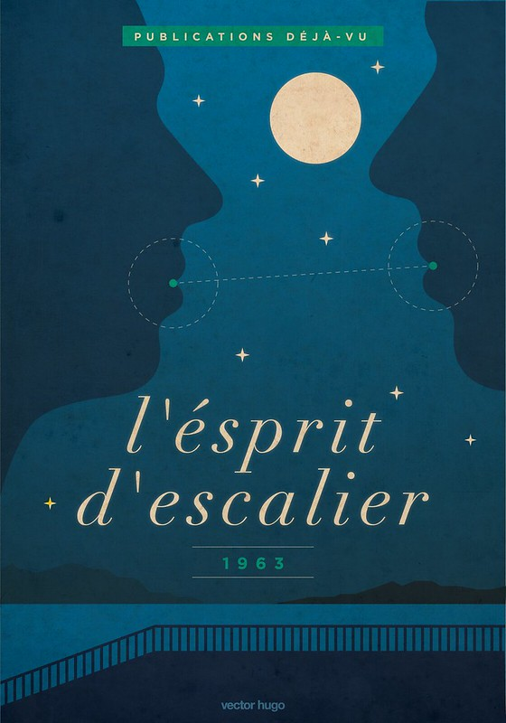 L' esprit de L' escalier, 1963 ―Vector Hugo