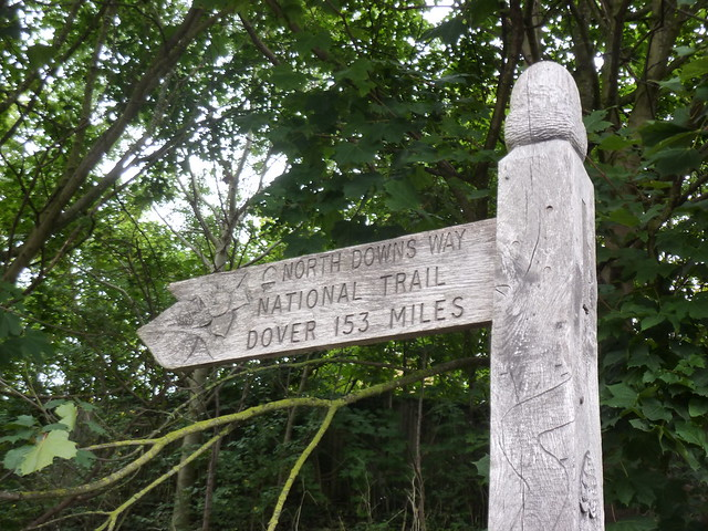 The Start of the North Downs Way