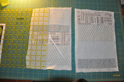 Padded iPad mini bag tutorial