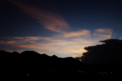 sunset sky cloud sun nature clouds canon landscape eos scenery view formation d550 blinkagain