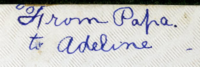 Back cover inscription