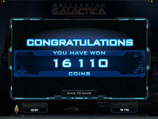 Battlestar Galactica Free Spins Prize