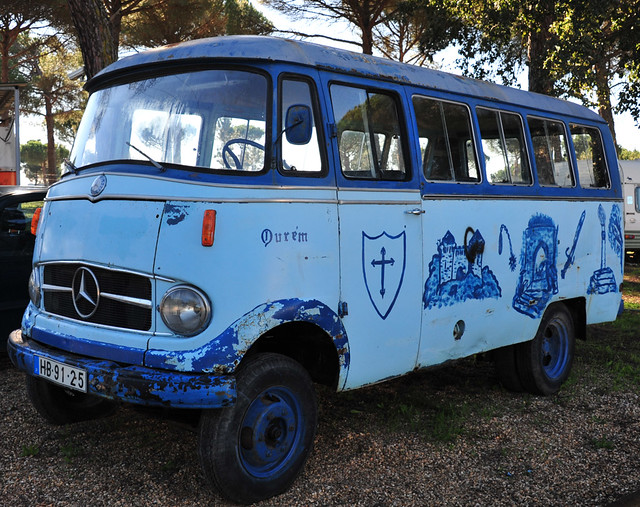 1966 mercedes benz mini bus l 319 flickr photo sharing for Mercedes benz 319 bus for sale