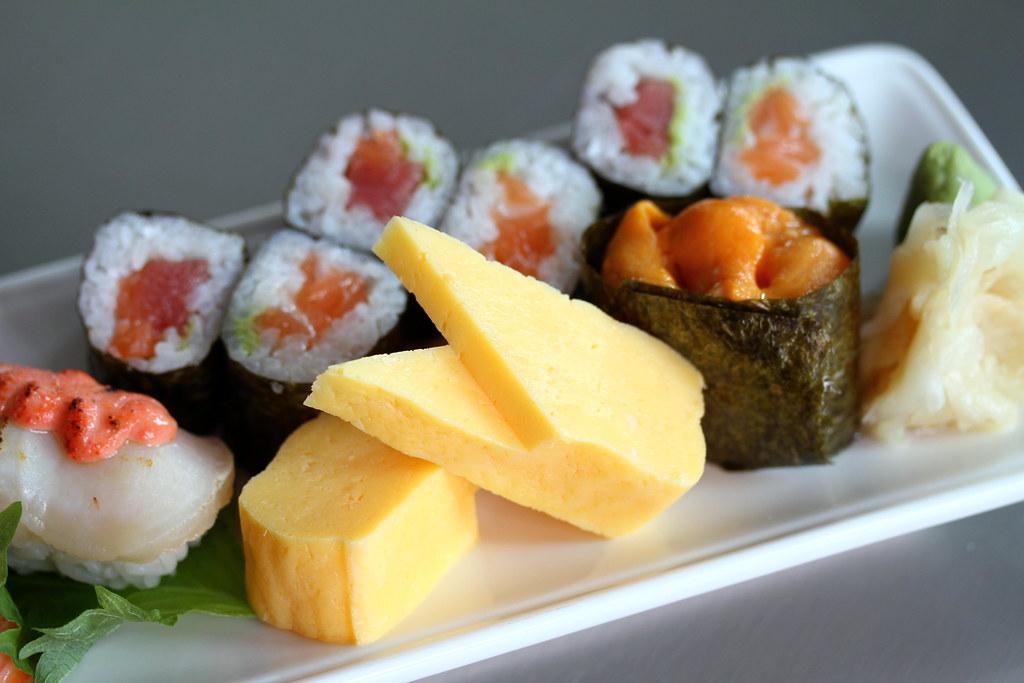 寿司航空寿司吧的各种寿司
