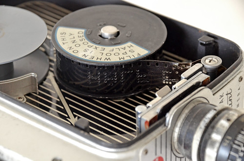 Precious memories relived by transferring cine film to a DVD format