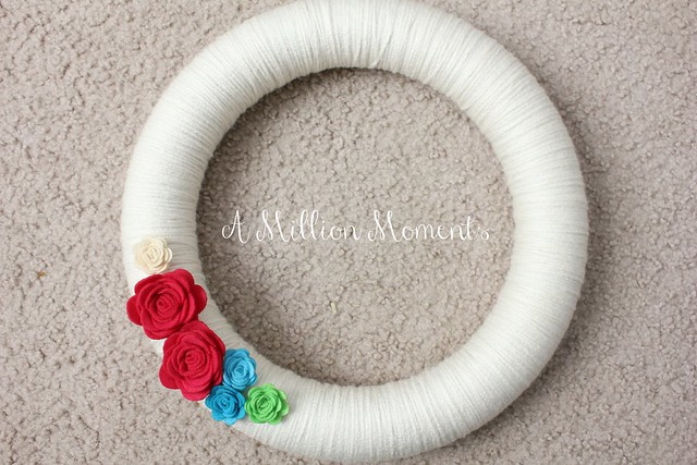 yarn wreath how to
